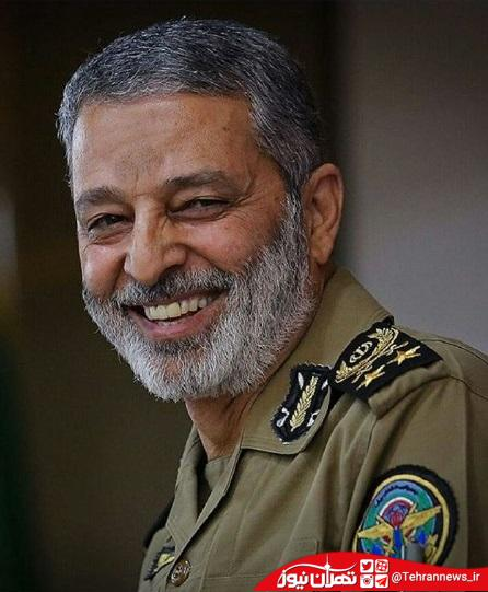 عکس فرمانده جدید ارتش با درجه «سرلشکری» + زندگینامه کامل