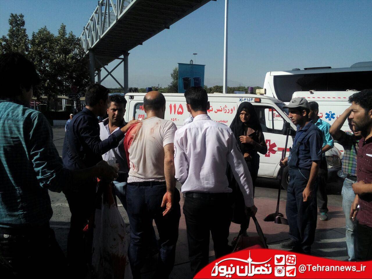 چاقوکشی در ترمینال جنوب تهران + عکس