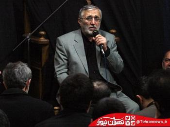 مداحی حاج منصور ارضی در بیت رهبری + صوت