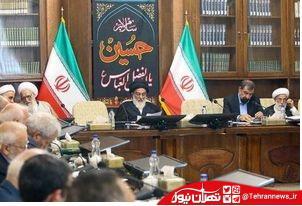 روحانی در دومین جلسه مجمع به ریاست آیتالله شاهرودی هم شرکت نکرد +تصاویر