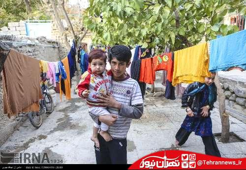 تصاویر/ حاشیه نشینان محله شهران در تهران