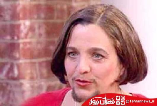 جنجال زن ریش دار! + عکس