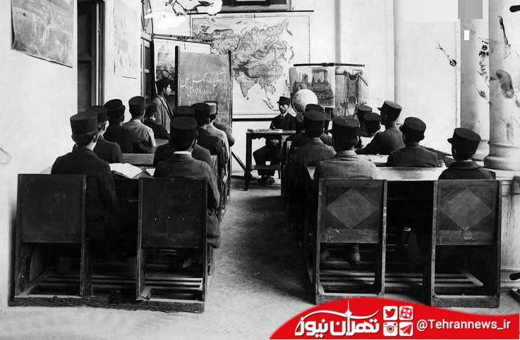قدمزنی در تصاویر تهران قدیم