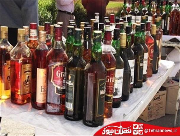 کشف مشروبات الکلی قاچاق توسط سربازان گمنام امام زمان (عج) در شهرقدس