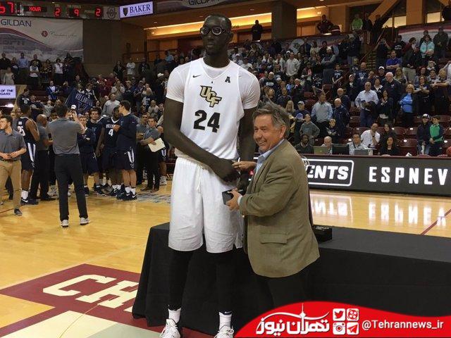 بلندقدترین بسکتبالیست های تاریخ