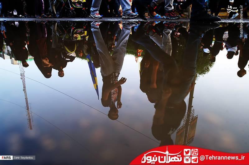 تصاویر/ پایان مراسم شکوهمند اربعین حسینی