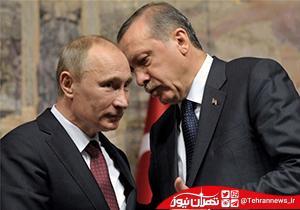 کار عجیب پوتین با صندلی اردوغان + فیلم