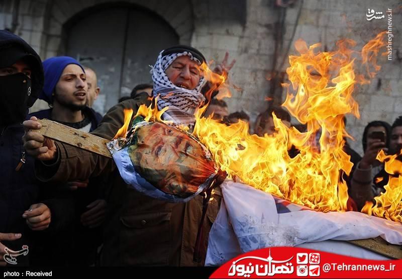 تصاویر/ درگیری فلسطینیها با نظامیان صهیونیست
