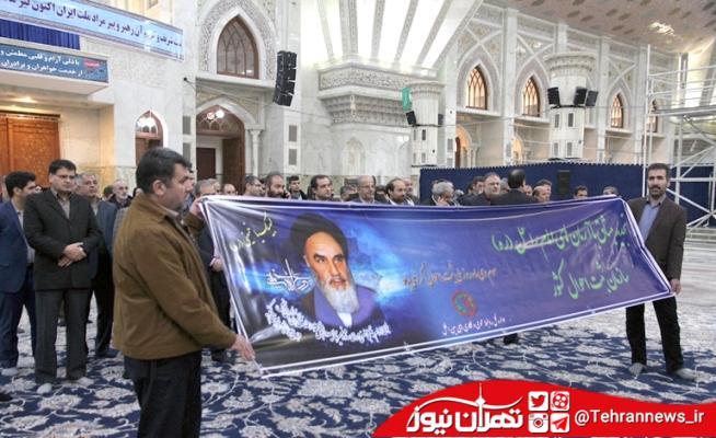 تجدید میثاق مدیران و کارکنان سازمان ثبت احوال کشور با آرمان های امام راحل + فیلم