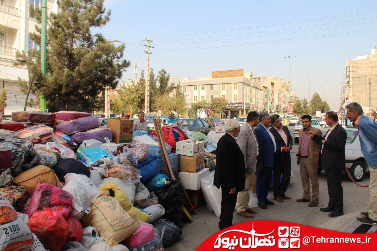 کمکرسانی به مناطق زلزلهزده غرب کشور ادامه دارد