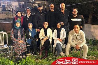 مسابقه رالی با حضور هنرمندان ایران و لبنان