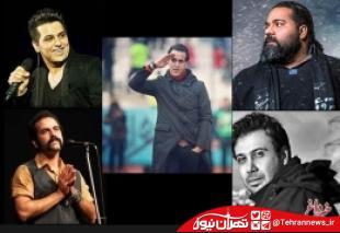 """حمایت خوانندگان از """"علی کریمی"""""""