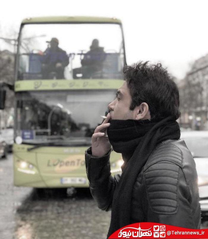 عکس لو رفته محسن چاوشی در پاریس! + عکس
