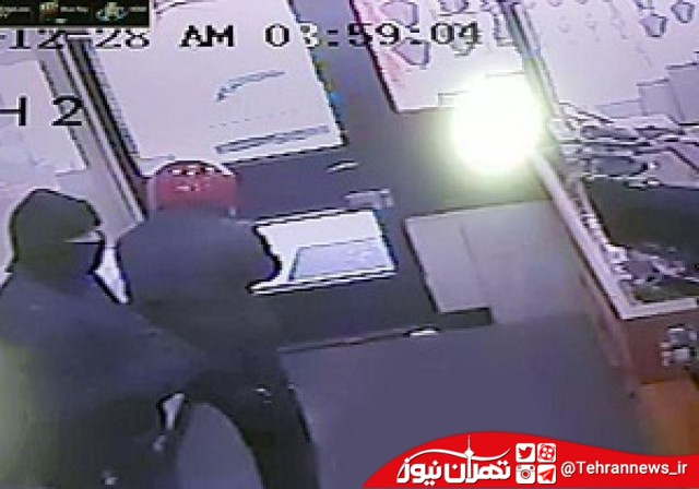 سرقت مسلحانه از بانک مسکن تبریز با شعارهای عجیب