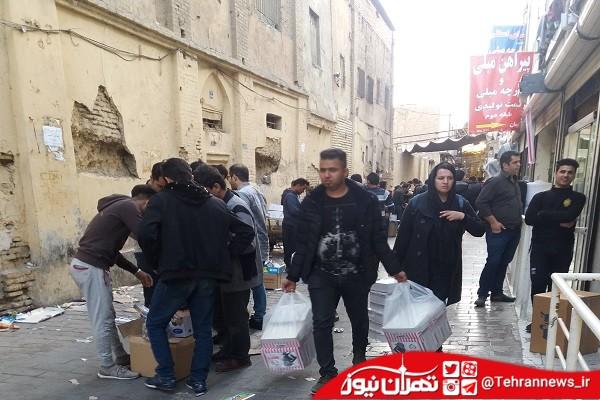 فروش مواد محترقه در بازار تهران