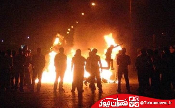 حوادث چهار شنبه سوری در قرچک + عکس