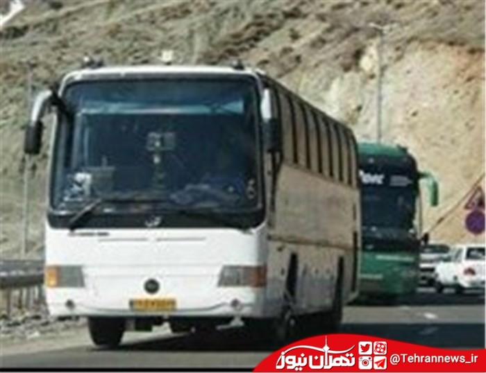ممنوعیت تردد اتوبوس برونشهری در آزادراه تهران - پردیس