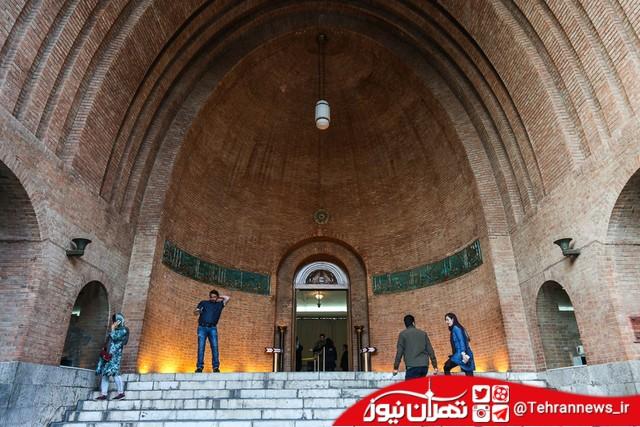 خروج یک شیء تاریخی از موزه ملی ایران