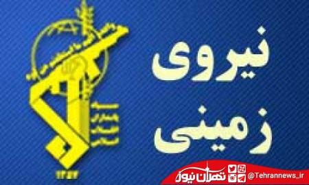انهدام خودروی انتحاری و هلاکت ۲ تروریست در منطقه سروان