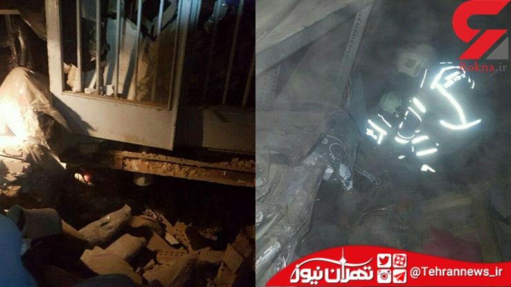 انفجار خونین در بازار تهران + عکس