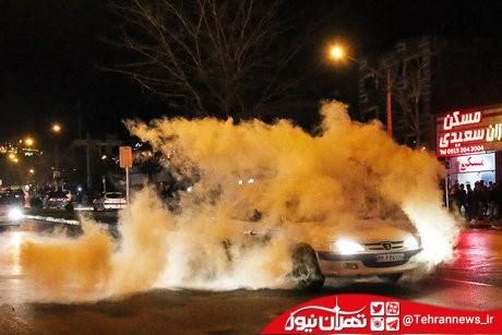 دستگیری مردی که در چهارشنبهسوری به آتشنشانان شلیک کرد