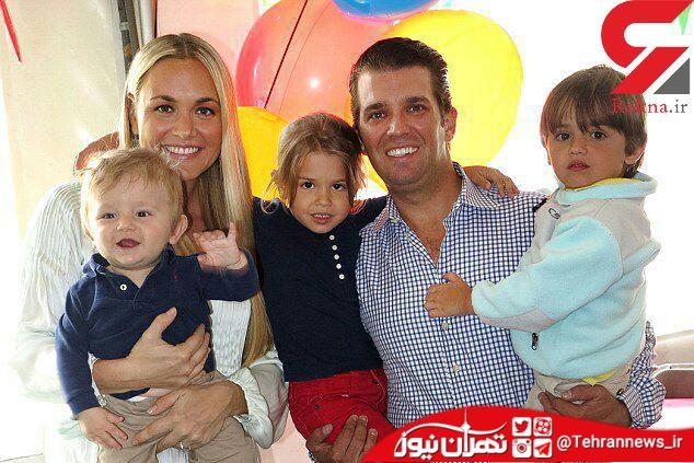 طلاق توافقی پسر رئیس جمهور از همسرش + عکس