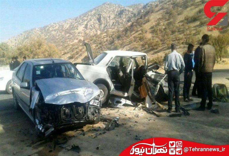 2 کشته در تصادف نهاوند همدان
