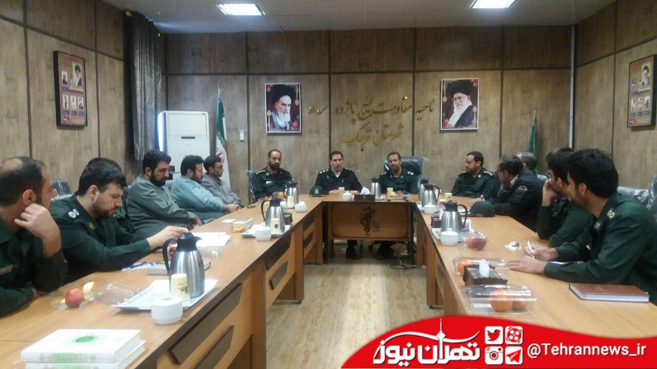 امنیت در سایه تعامل پلیس و سپاه محقق میشود