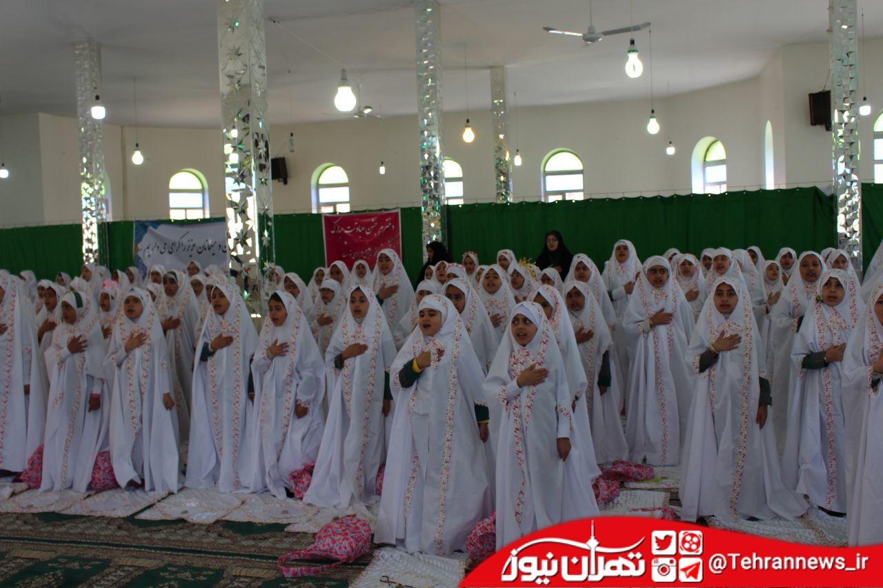 برگزاری طلیعه بندگی و جشن تکلیف دانشآموزان دختر فیروزکوه