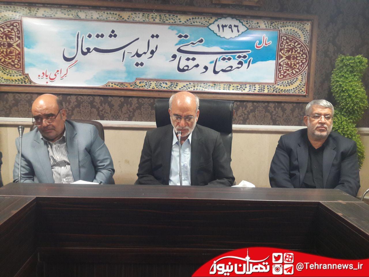 پیگیری مصوبات شورای برنامهریزی و توسعه استان تهران