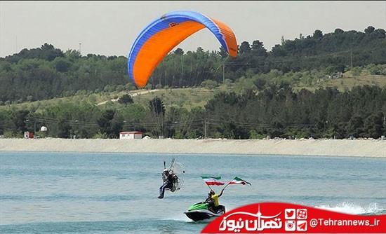 تفرجگاههای جنوب تهران را بیشتر بشناسیم / دریاچه مصنوعی و تفریحی حسنآباد