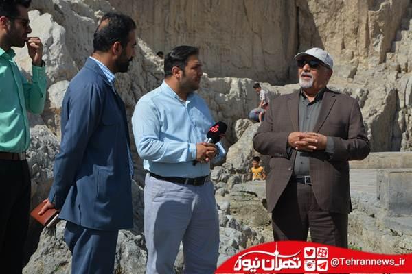 وعده مسئولان برای بازگرداندن آب چشمه علی محقق نشده است+عکس