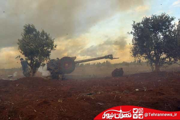 ارتش سوریه استحکامات داعش در حومه درعا را در هم کوبید