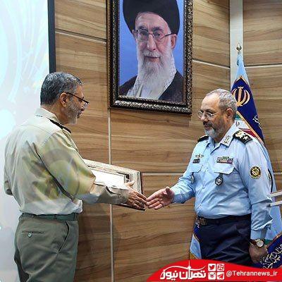 فرمانده جدید نیروی هوایی ارتش معارفه شد