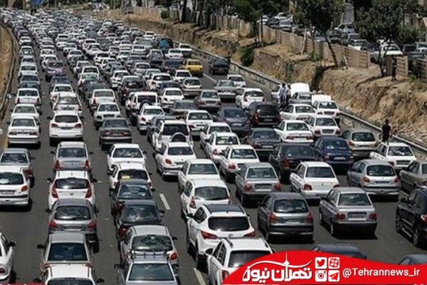 آخرین وضعیت ترافیک سنگین در بزرگراه های پایتخت