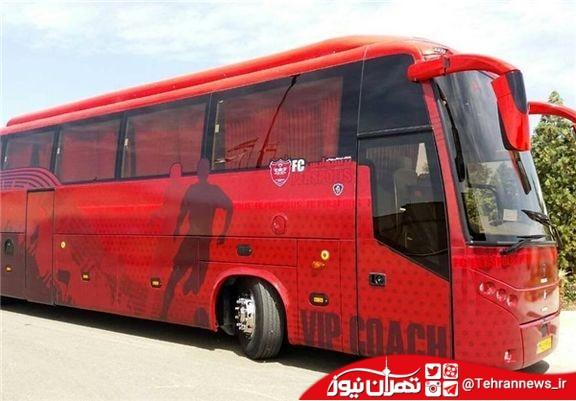 فروش اتوبوس باشگاه پرسپولیس به دلیل مشکلات مالی