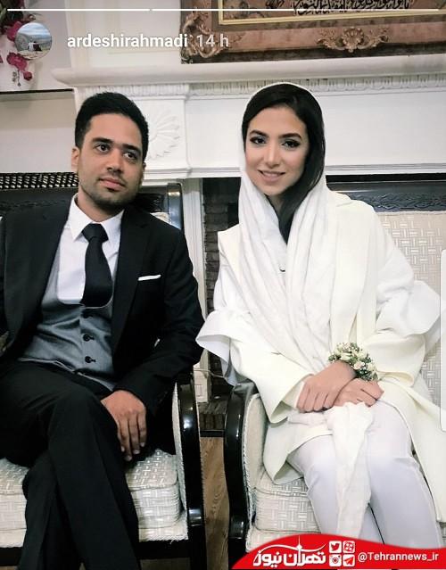 ازدواج سارا خادمالشریعه بانوی شطرنجباز ایران