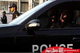 زیر گرفتن دو پلیس در ایران + فیلم