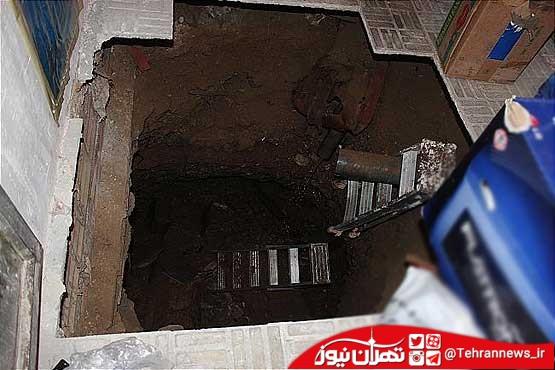 بانوی ۴۵ ساله از چاه آشپزخانه نجات یافت