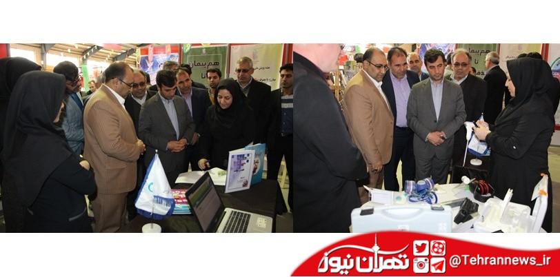 برپایی نمایشگاه دستاوردهای 40 ساله دستگاههای اجرایی در بهارستان