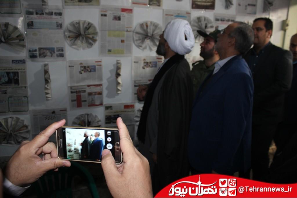 نمایشگاه دستاوردهای انقلاب در قرچک + تصاویر