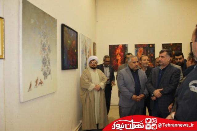 افتتاح نمایشگاه هنرهای تجسمی در جنوب تهران