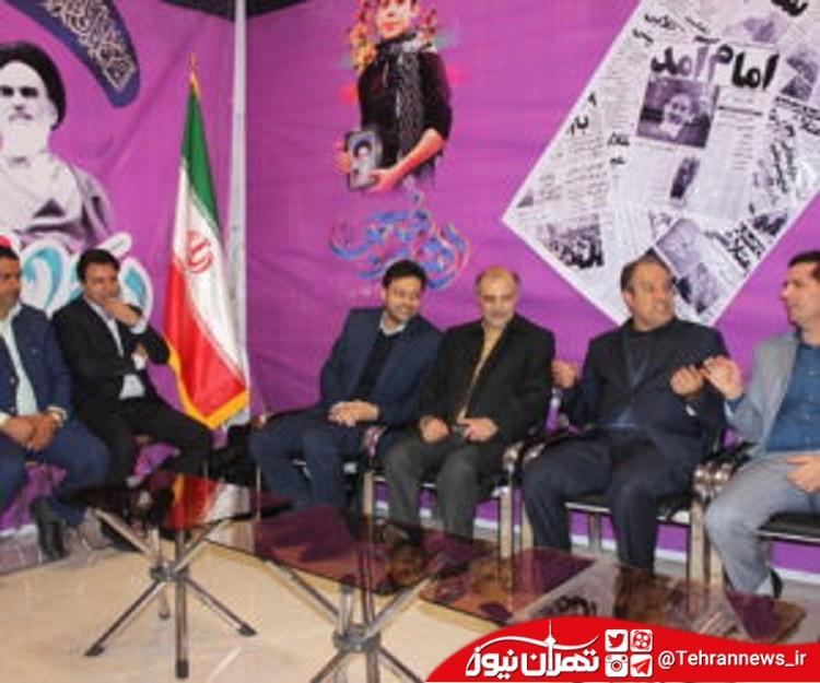 معاون استاندار تهران از نمایشگاه دستاوردهای انقلاب در ملارد بازدید کرد + تصاویر