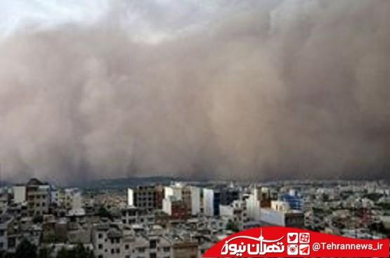 وقوع طوفان در تهران صحت ندارد