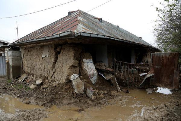 خسارت سیل در مازندران
