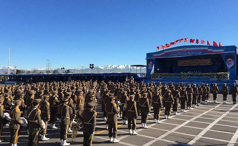 مراسم بزرگداشت روز ارتش برگزار شد