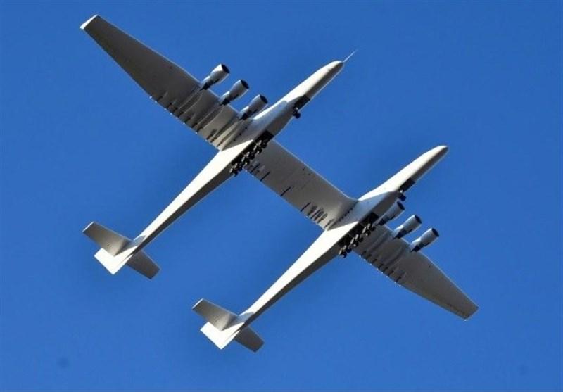 بزرگترین هواپیمای جهان رونمایی شد + عکس