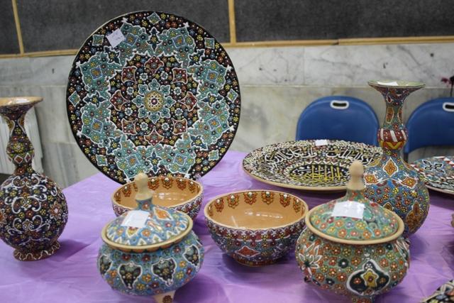 تصاویری از نمایشگاه صنایع دستی قرچک