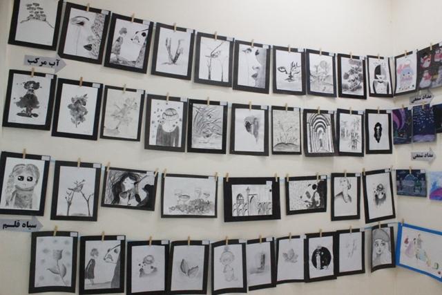 تصاویر نمایشگاه نقاشی در ورامین