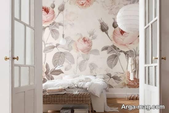 ۳۰ طرح جذاب کاغذ دیواری برای اتاق خواب